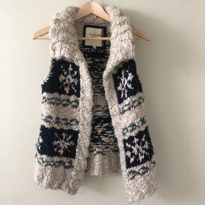 100% Wool Knit Vest | Abercrombie